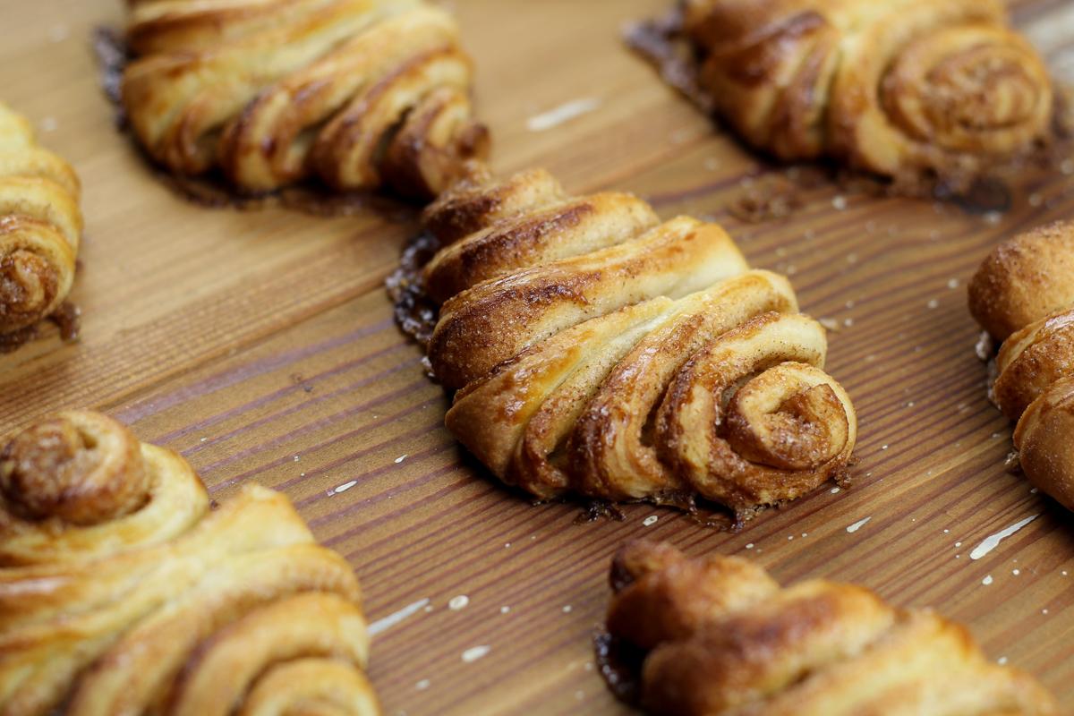 Franzbrötchen (pãozinho doce em caracol)