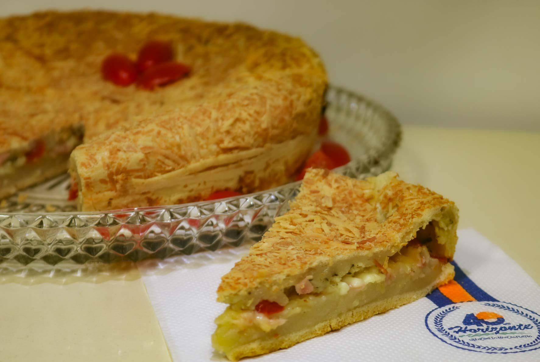 Torta Salgada de Polvilho
