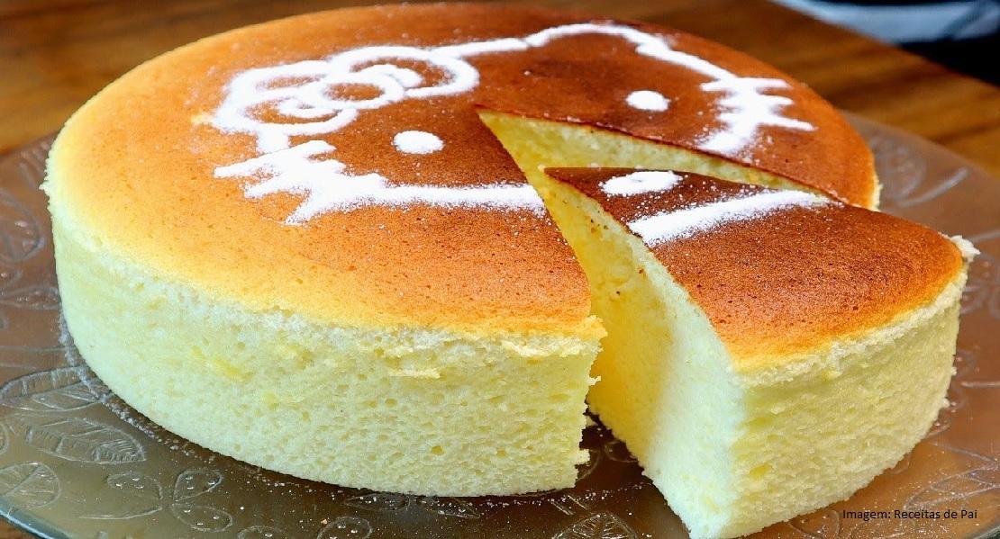 Cheese cake Japonês – Bolo de queijo Japonês